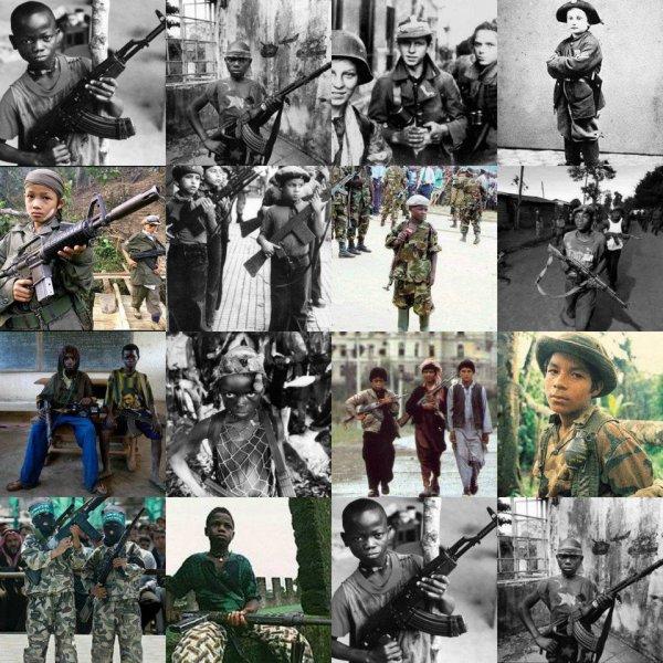 Enfants Soldat !