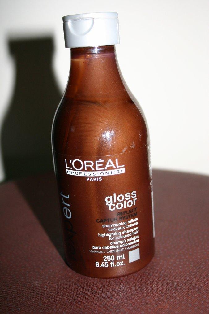 shampooing reflets pour cheveux colors marron 250ml gloss color de l - Shampoing Colorant L Oreal