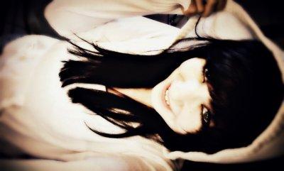 schwarze haare *-*