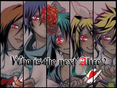 Who is the next Alice ?