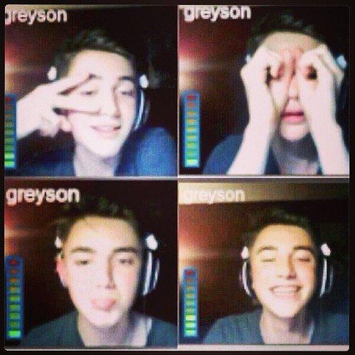 Greyson Chance sur skype