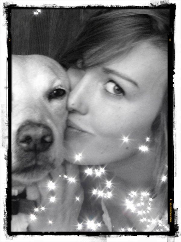 L'amour d'un animal et souvent plus fort que celui d'un homme ...
