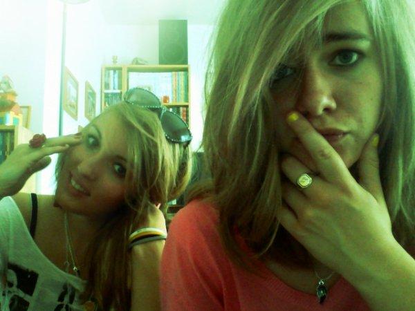 Marion et moi ! <3