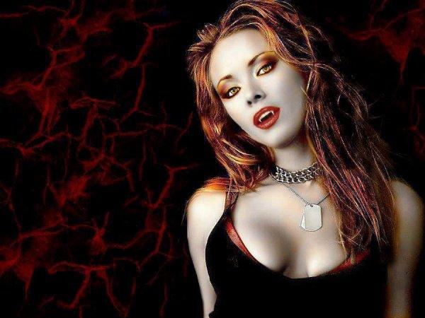 Red vamp
