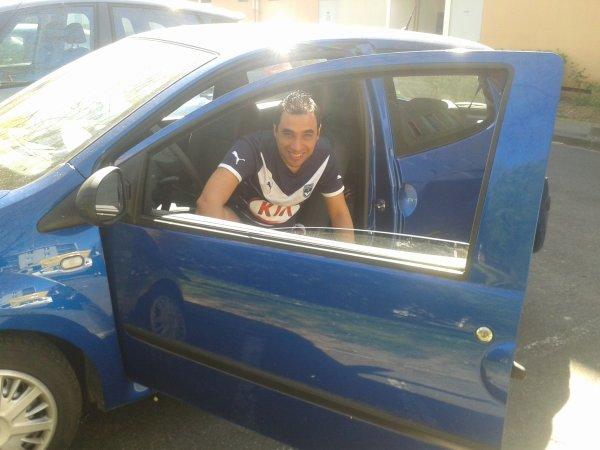 ma voiture et moi.
