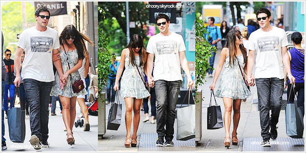. 16/04/2012 - Cory et sa girlfriend, fraîchement officialisée, font du shopping dans Soho à New-York. Ne sont-ils pas trop mignons ? _ Depuis le temps que les rumeurs fusent, les voilà enfin montrer ça au grand jour. ♥ .