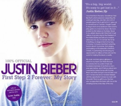 Justin Bieber já tem livro!
