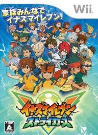 jaquettte inazuma eleven strikers (japonais)