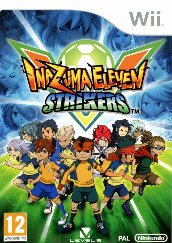 jaquette inazuma eleven strikers (francais)