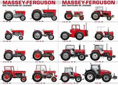 h'istoire des tracteur MF.