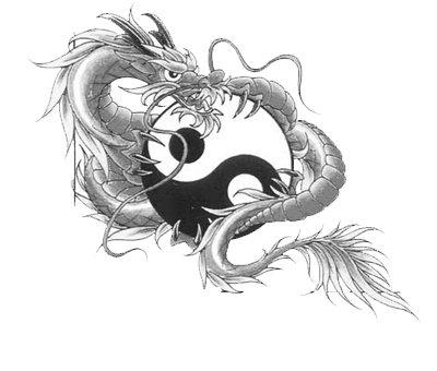 ying yang dragon(joli...).