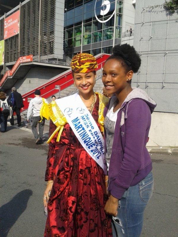 Avec Miss Martinique