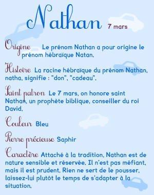 Joyeux Anniversaire Nathan Ma Famille