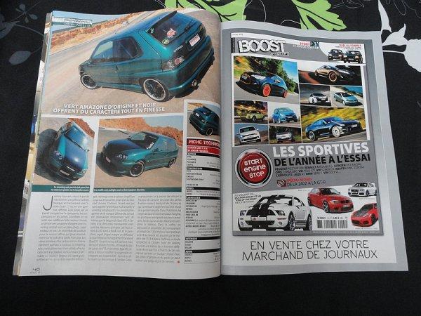 Parution De Ma Saxo Dans Boost Magazine N°192.