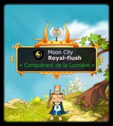 Un nouveau venu : Royal-flush