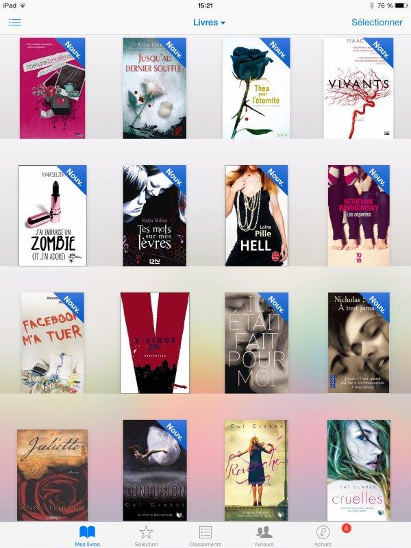 Mes livres :) je ne les ai pas lu cela ! (1)