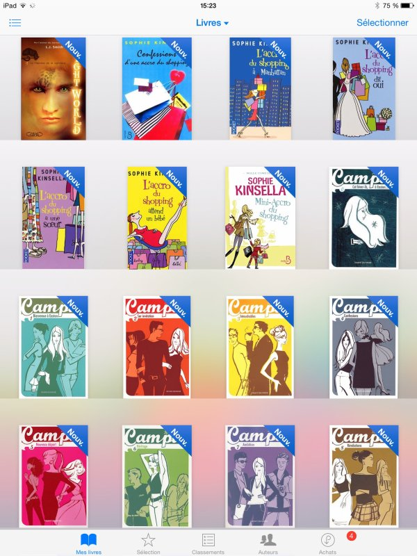 Mes livres :) je ne les ai pas lu cela ! (3)