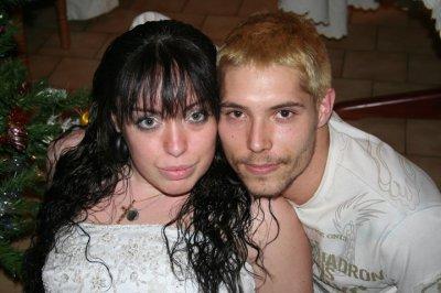 ma cousine et moi nouvel an 2010
