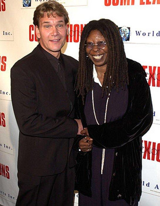 Whoopi Goldberg & Patrick Swayze