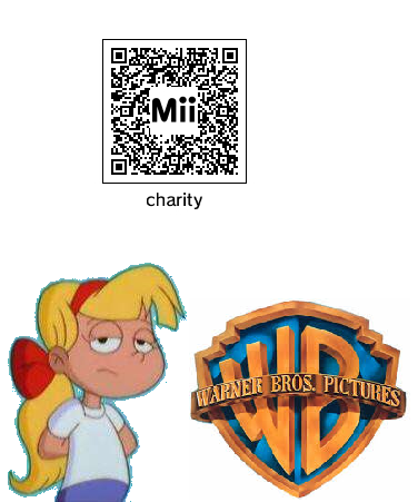 QRC Codes Mii (3ds) - Charity