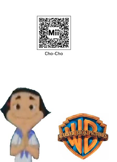 QRC Codes Mii (3ds) : Cho-Cho