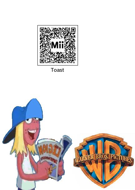 QRC Codes Mii (3ds) - Toast