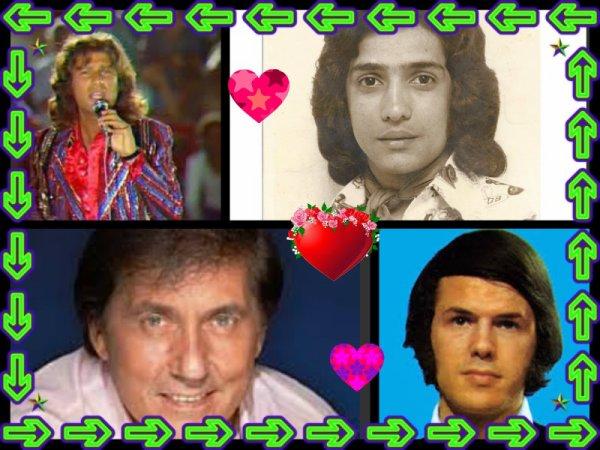 les chanteurs que jaime