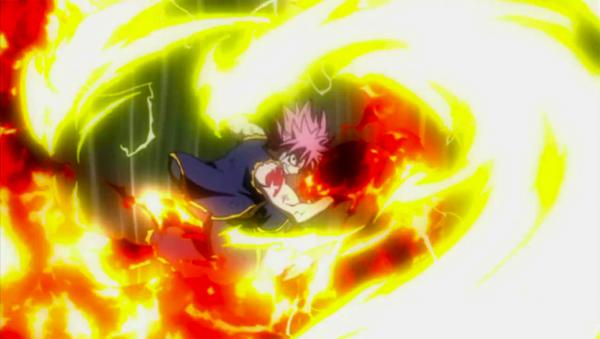 Chapitre 2: La foudre et le feu, les ténèbres, la résolution de Fairy Tail.