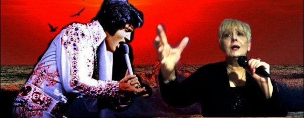 Mahite et Elvis Presley.
