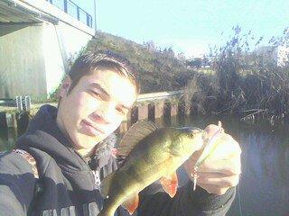 1ER pêche de l'année fait du bien de retrouvé la canne ^^