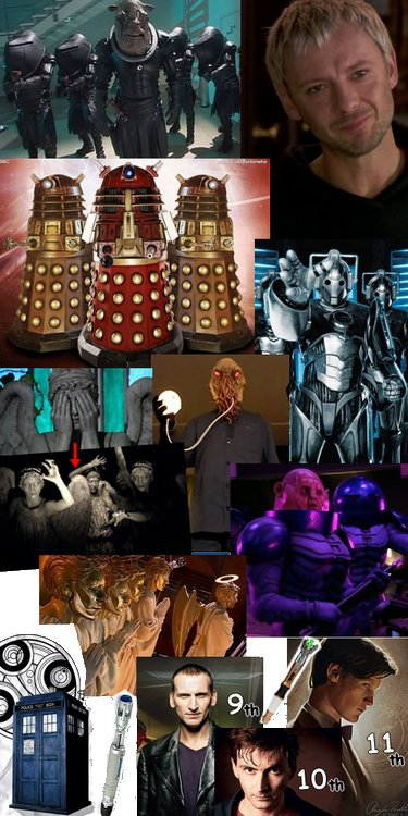 ! The Doctor and his biggest enemies !