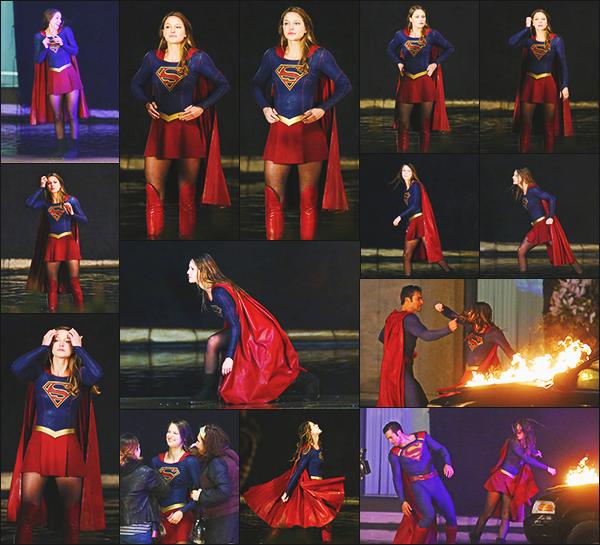""". """"""""◈ 27/04/17 ◈""""""""-    Mélissa en compagnie de Tyler H. était sur le tournage de la saison 2 à Vancouver au Canada ! Dernier jour de tournage pour l'équipe de Supergirl, je rappelle que la série est renouvelé pour une saison 3 qui débutera en septembre 2017! Vos Avis? ."""