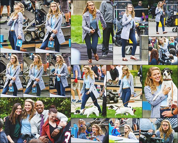 .30/08/17 ► Melissa avec ses co stars étaient sur le tournage de la saison 3 de Supergirl à Vancouver  Le tournage de la série continue, Melissa à l'air de s'amuser avec ses collègues, j'ai hâte que la série reprenne, plus que quelques jours. Vos Avis ? .