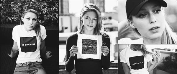 """.01/10/17 ► Découvrez de magnifique photos de la belle Melissa pour la campagne """"I don't mind""""  il s'agit d'une campagne concernant les maladies mentale tel que la dépression. Mel et Chris sont très impliqués dans cette lutte. Vos Avis ? ."""