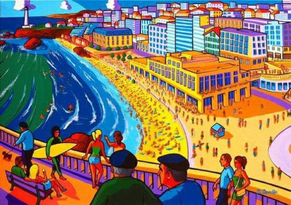 biarritz en peinture