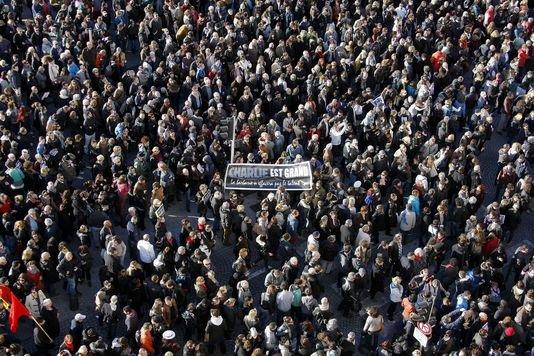 Un dimanche pour dire non à la terreur et oui à la liberté !