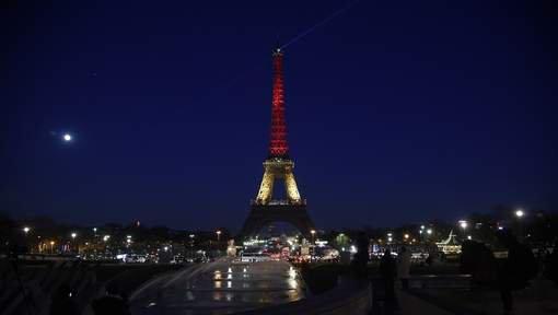 Le monde entier en noir jaune rouge
