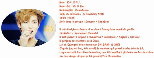 - Biographie des Exo M -