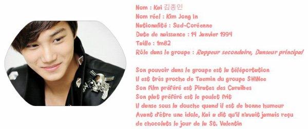 - Biographie des Exo K -