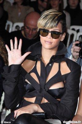 Rihanna qui a fait son show