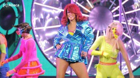 Rihanna était en concert le mardi 28 juin 2011 au mythique Staple Centers de Los Angeles
