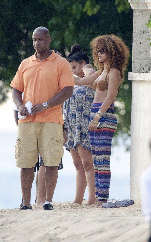 Rihanna : Nouvelles photos à la Barbade