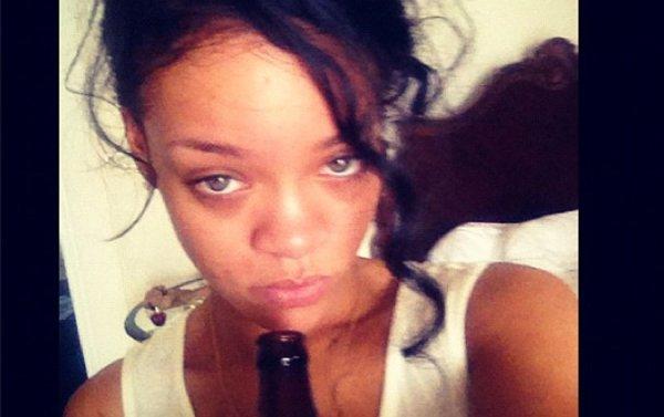 Rihanna trouve-t-elle du réconfort dans l'alcool