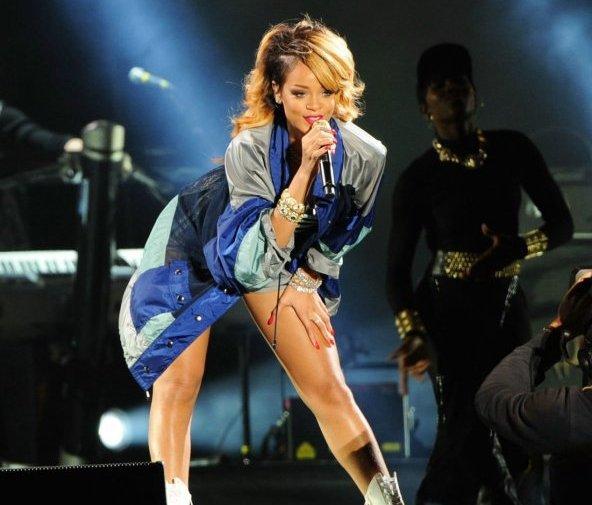 Rihanna en Pologne
