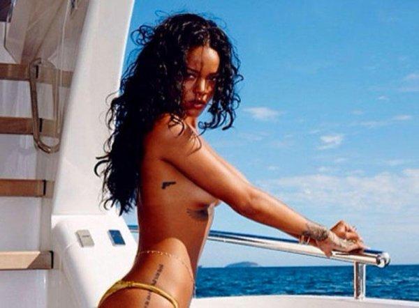 Rihanna topless au Brésil : un hiver très très chaud !