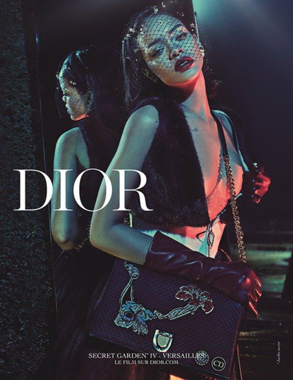 Rihanna  egerie Dior