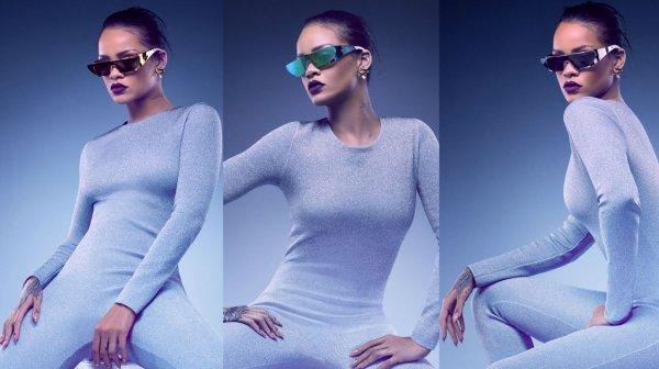 Rihanna pour Dior.