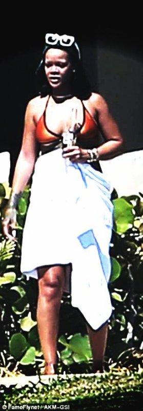 Rihanna nouvelle silhouette pulpeuse