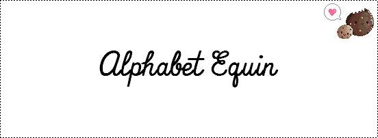 L'alphabet Equin