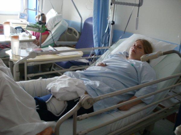 moi a l'hopital de l'operation du 22 mai 2012